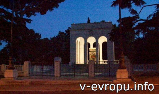 Рим. Мавзолей Гарибальди на Трастевере