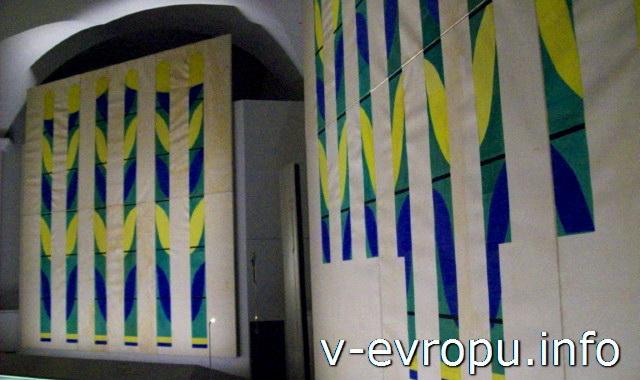 Музеи Ватикана. Зал Матисса. Эскизы витражей Часовни Чёток  в Вансе Анри Матисса