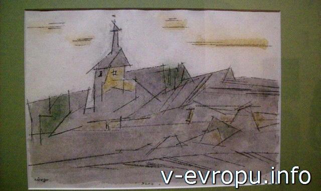 "Музеи Ватикана, Зал Матисса. Работа Лионеля Файнингера ""Бенц"", 1953г"