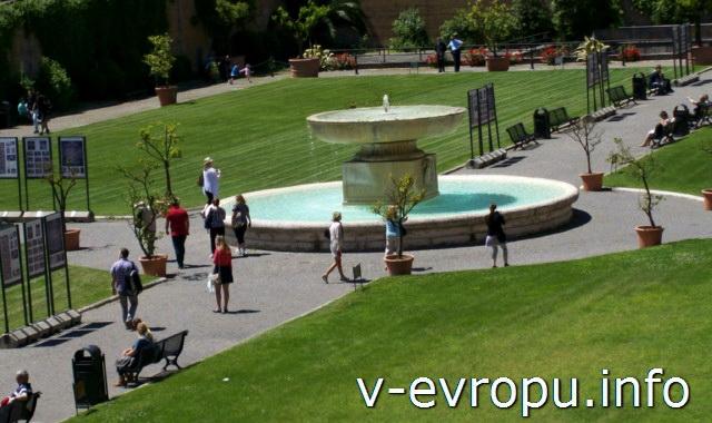 Парк Музеев Ватикана, куда можно попасть уже после покупки билетов