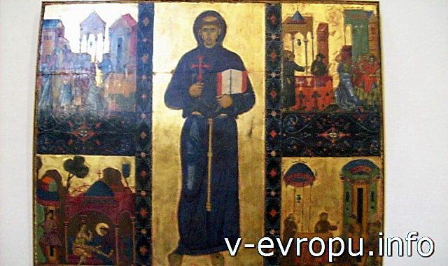 Ватиканская Пинакотека. Работа 13 века.