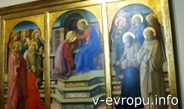 Живопись 12-13 вв. Пинакотека Ватикана