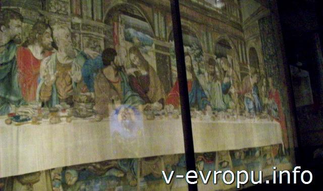 Ватиканская Пинакотека. Тайная Вечеря