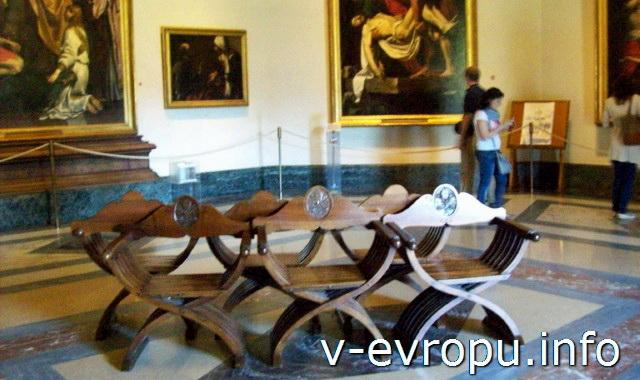 Поход в Музеи Ватикана. Пинакотека