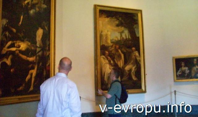 Стоимость посещения Ватиканской Пинакотеки=16 Евро, включая остальные Музеи Ватикана. (цена май 2013 г)
