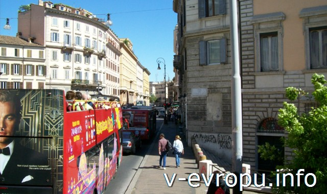 """Экскурсии по Риму на автобусе_ """"Красные автобусы"""" Сити Сайтсиинг Рома"""