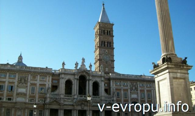 Рим. Базилика Санта Мария Маджоре: интерьер и реликвии