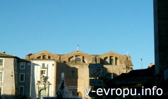 Рим. Площадь Республики