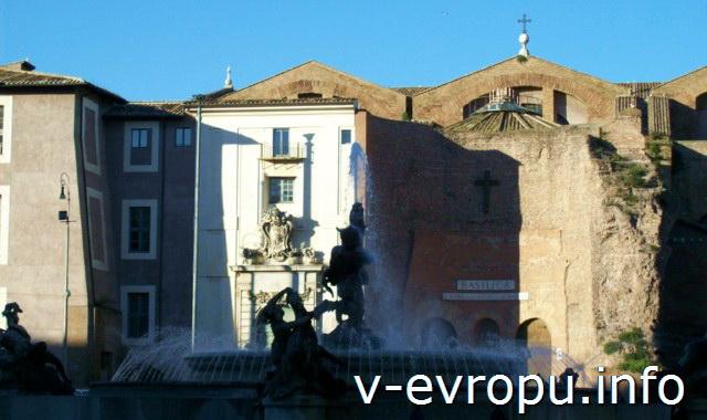 Рим. Церковь Санта Мария дельи Анджели э деи Мартири: история веры