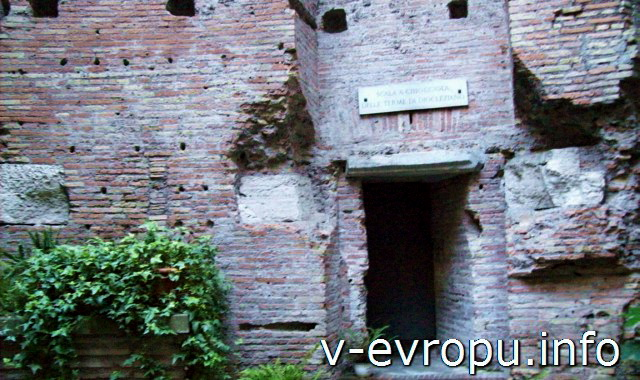 Термы Диоклетиана в Риме