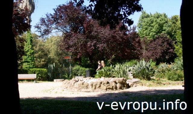 Сады Боргезе в мае. Рим