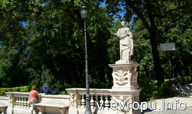 Скульптура виллы Боргезе