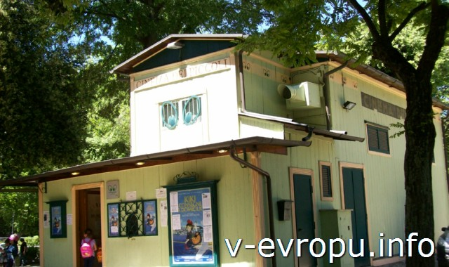 Дом-Музей Кино в парке Боргезе