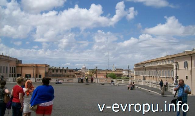 Рим для туристов: самые популярные районы города. Фото. Панорамный вид на Рим с Квиринала