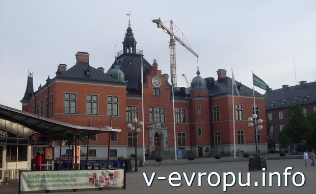 Швеция. Железнодорожный вокзал в Умео