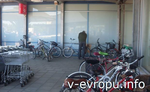 Велосипеды в Умео