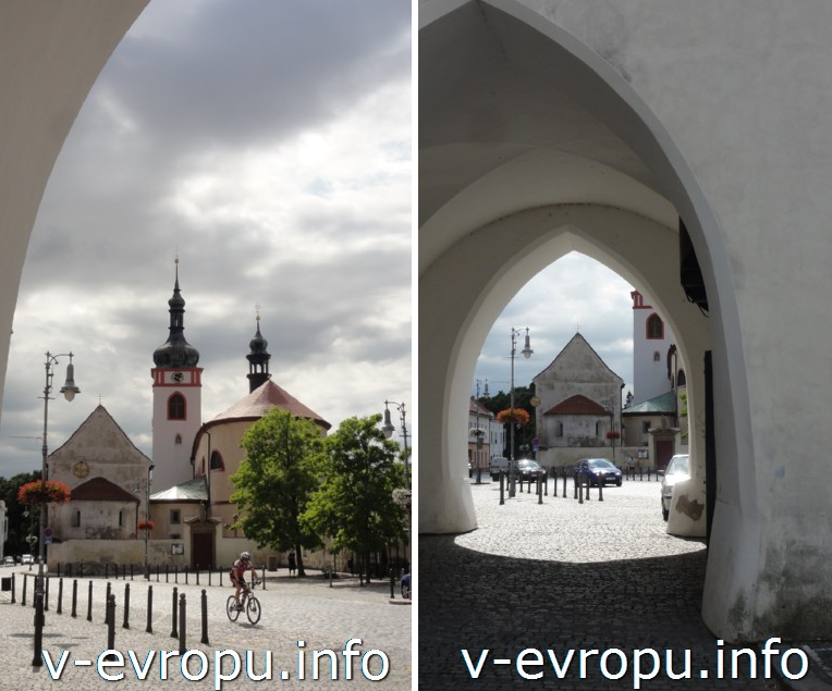 городок Стара Болеслав недалеко от Праги