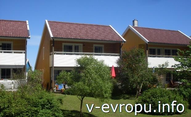 Жилые дома в Умео (Швеция)