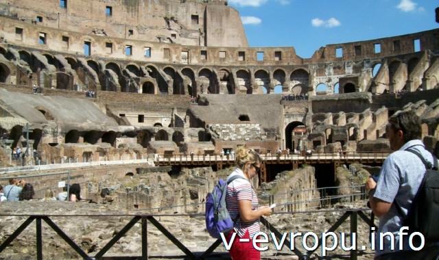 Нижний ярус Colosseum