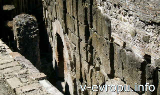 Подвалы Колизея