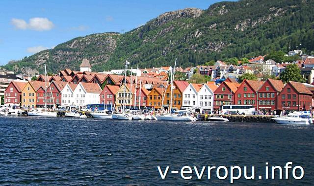 Самостоятельное путешествие по Осло и Бергену.  Брюгге с моря