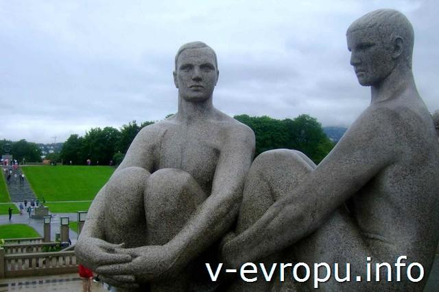 парк Вигеланда, Осло