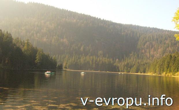 Баварское озеро в районе Боденмайса