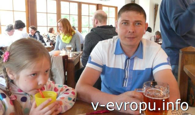 Обед в ресторане Мюнхена