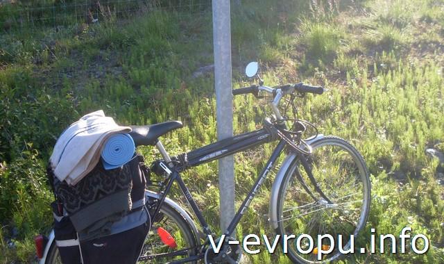 По Швеции на велосипеде. Мое снаряжение в Шеллефтео