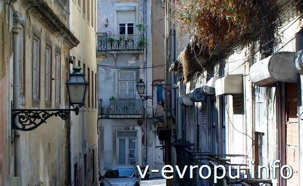 Старинные улочки Лиссабона
