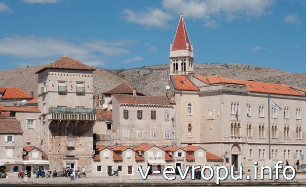 Сентябрьское путешествие по Хорватии и Италии. г.Трогир (Хорватия)