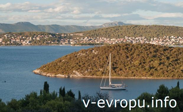 о. Чиово. Хорватия