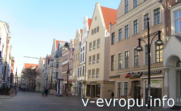 Улицы немецкого городка Росток