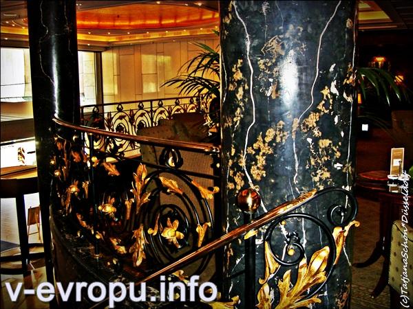 Интерьеры роскошных отелей Дюссельдорфа