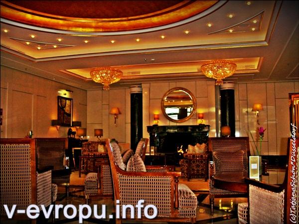 Рестораны в пятизвездочных отелях Дюссельдорфа - отдельная достопримечательность
