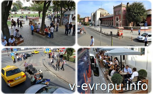 Виды Стамбула из окна экскурсионного автобуса