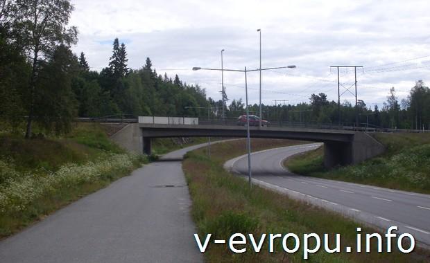 Въезд в Харносанд. Швеция
