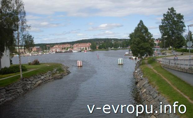 Мосты и каналы Харносанда. Швеция