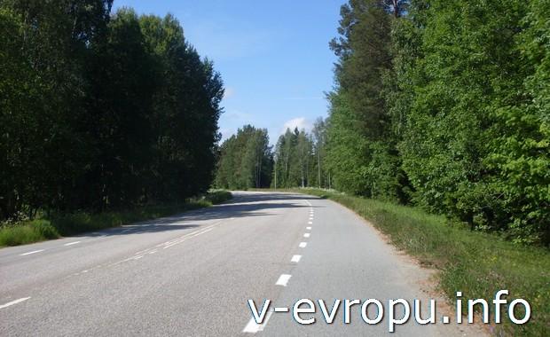 Велосипедные дороги Швеции