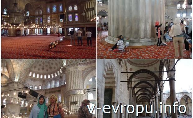 Посещение Голубой Мечети в Стамбуле
