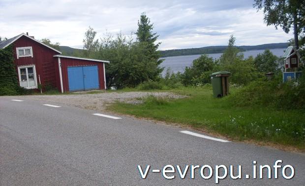 Усадьбы в окрестностях Харносанда. Швеция на велосипеде