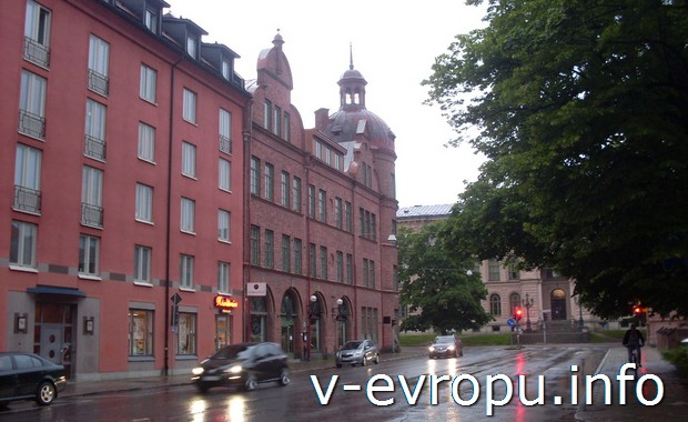 Вечерний Сундсвалль. Швеция