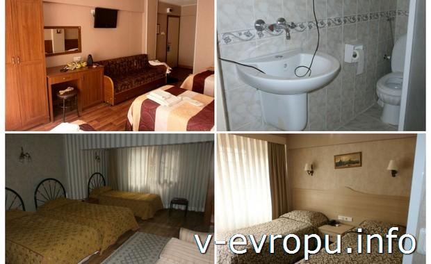 Комната в отеле на Султунахмед (Стамбул)