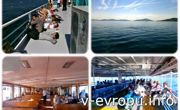 Поездка  на пароме на  Принцевы острова в Стамбуле