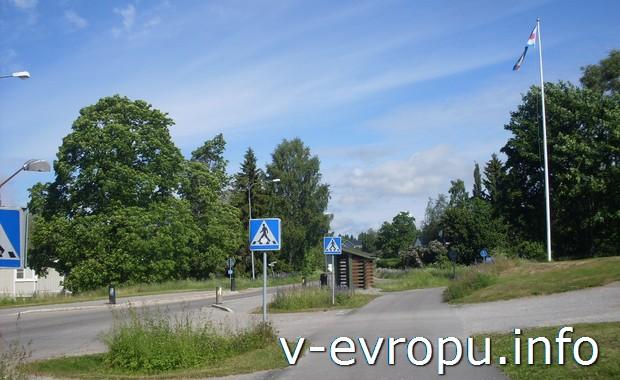 Как путешествовать на велосипеде по Европе. Подъездные дороги к Тимра. Швеция.