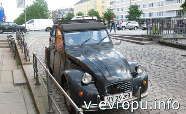 Экскурсии по Копенгагену. Раритетное авто (выпуск  до 1941)