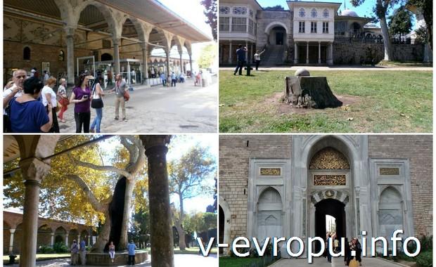Посещение одной из главных достопримечательностей Стамбула - дворца Топкапы