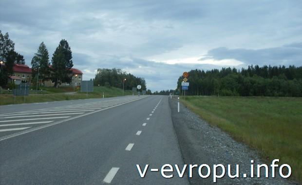 Харносанд. Велосипедные дороги Швеции