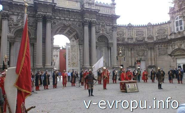Оркестр янычаров в Стамбуле