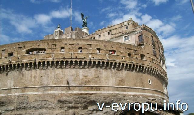 Рим. Италия. Замок Сант Анджело